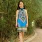 泰国服装批发 波西米亚 民族风女装 印巴服饰 绣珠旗袍连衣裙345