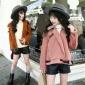 女童加厚外套2019新款韩版儿童冬装夹克加绒小女孩皮衣潮一件代发