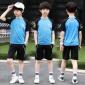 男童运动服夏季速干衣套装2019新款中大童帅气10岁洋气夏装篮球服