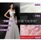 纯色复合仿真丝 雪纺纱布料 复合丝 婚纱礼服衬衫裙装DIY背景面料