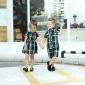 中小学生校服夏装幼儿园园服短袖套装英伦学院风2018儿童班服定制