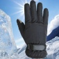 秋冬季棉手套男士加绒加厚保暖骑车羽绒户外学生滑雪防风手套批发