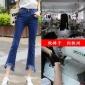 湖南淘工厂实力商家精品打造女装牛仔裤加工