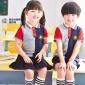 濮阳豫童洁心服饰夏季新款儿童校服幼儿园生产批发