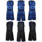 2016迷彩单层两面穿男装篮球套装吸湿排汗面料队服球衣批发招代理