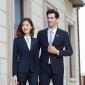 订做韩版男女西服职业装套装六盘水西装厂家承接团体西装量身定制