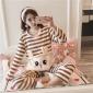 2019孕妇秋冬月子服睡衣套装法兰绒隐形开口哺乳保暖装女一件代发