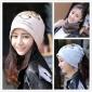韩版多功能眼镜印刷包头帽 户外骑行围脖套头保暖月子帽厂家直销