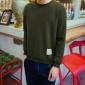 KXP 厂家直销2016新品时尚爆款长袖t恤日系男士圆领抓绒卫衣批发