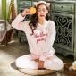 睡衣女冬季珊瑚绒两件套加厚韩版甜美可爱套装法兰绒秋季家居服