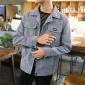 男士2018春季新款外套春秋牛仔夹克学生修身帅气韩版潮流棒球衣服