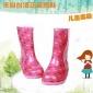 外贸原单儿童雨鞋卡通雨鞋水鞋雨靴中筒防滑雨鞋出口韩版雨鞋厂家