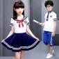成都重庆春夏儿童校服男女童套装中大童夏季小学生班服幼儿园定做
